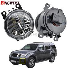 2x Front Bumper LED Fog Lights High Brightness Driving fog lamps For Nissan Pathfinder Closed Off-Road Vehicle R51 2005-2012