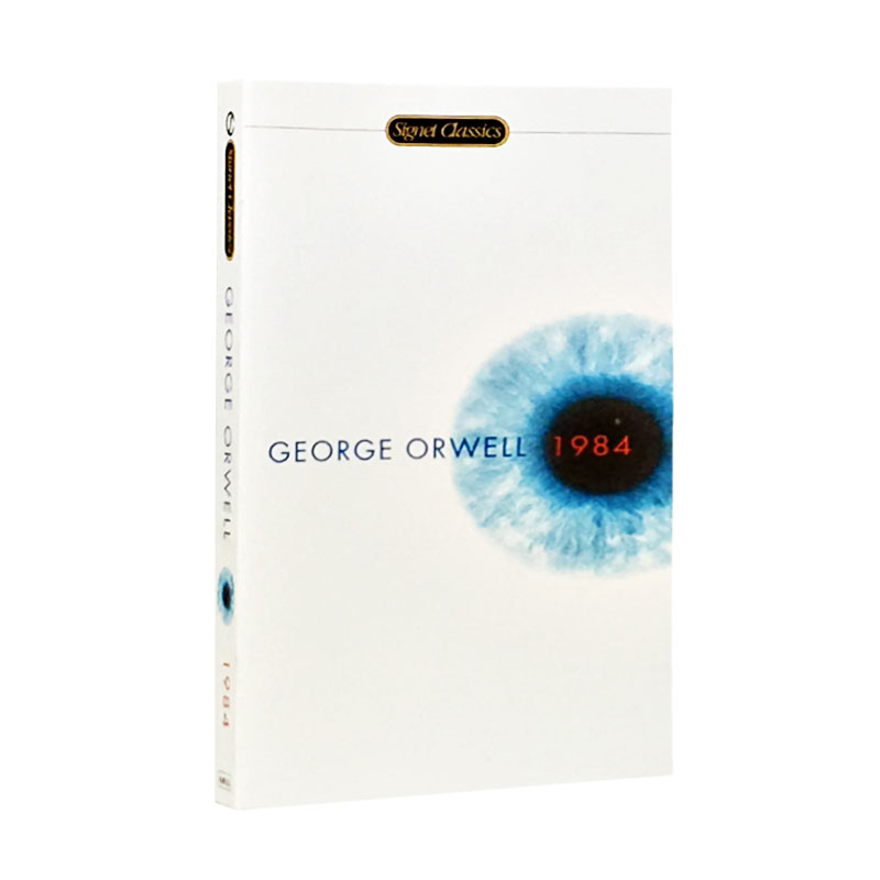 The George Orwell English Version New Hot selling Fiction book for Adult libros george orwell 1984