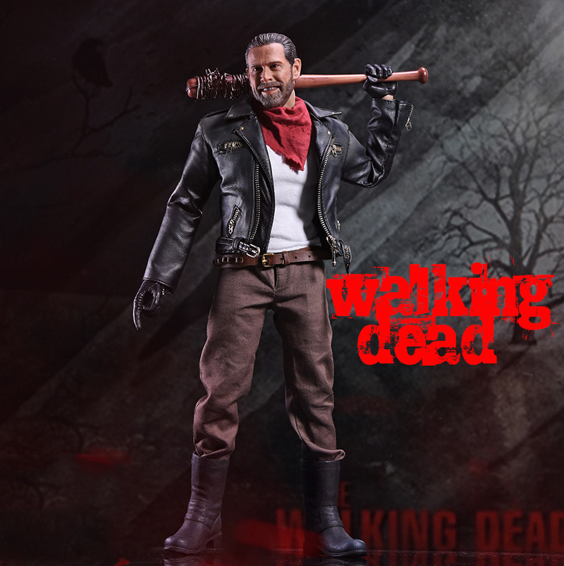 1/6 Scale The Walking Dead Negan Full Set Action Figures Body&Head& Accessories Toys Gifts Collections 1 6 scale full set soldier the lord of the rings elven prince legolas action figure toys model for collections