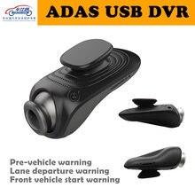 Cheshitong USB wideorejestrator samochodowy złącze do kamery samochodowej HD 1280*720 P DVR Mini samochodowy rejestrator jazdy z ADAS kamera do androida