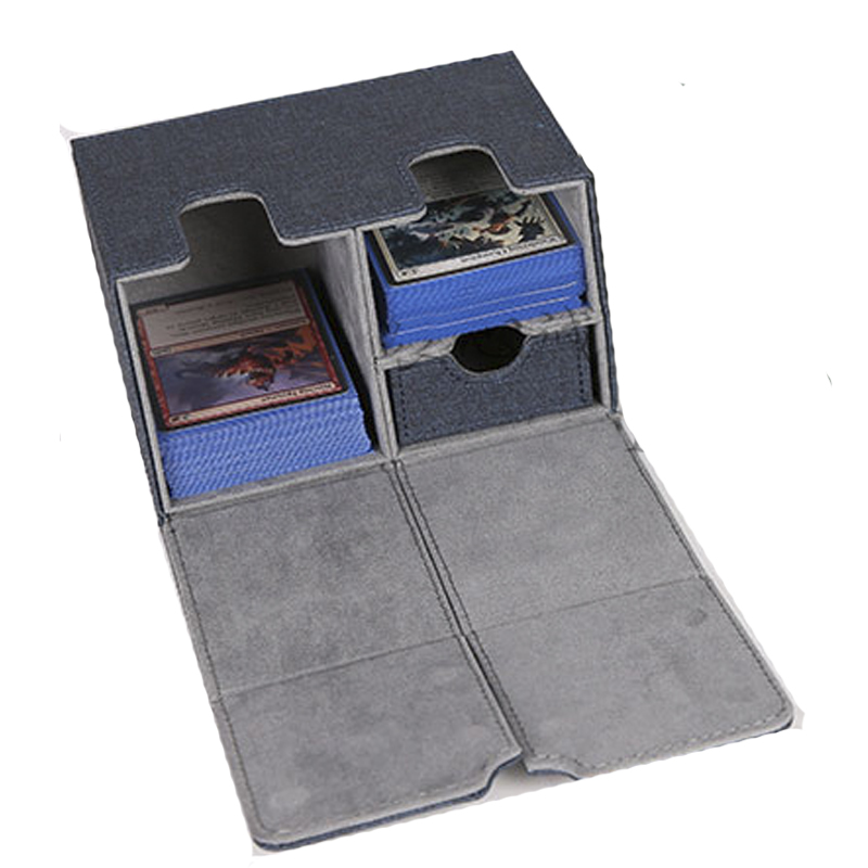 Large Size Board Games Card Case Container Collection Box For Pokemon CCG MTG TCG Magic Board Game Cards
