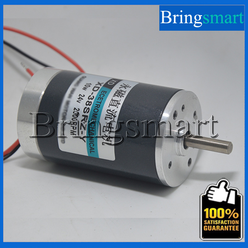 Bringsmart 38SRZ-Y <font><b>DC</b></font> Permanent Magnet <font><b>Motor</b></font> 12V <font><b>DC</b></font> <font><b>Motor</b></font> <font><b>10W</b></font> Adjustable Speed High Torque 24V Brush <font><b>DC</b></font> <font><b>Motor</b></font> image