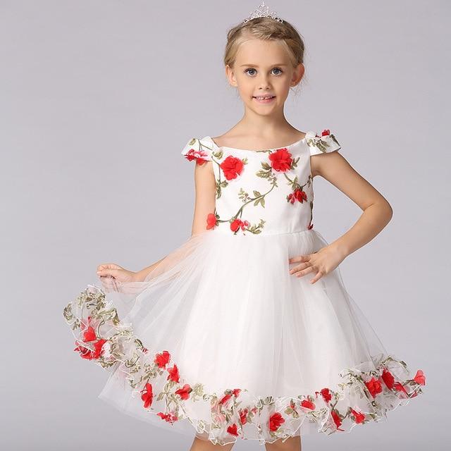 Kinder Mädchen Kleid Abend für Kinder mädchen Schulterfrei Kleines ...