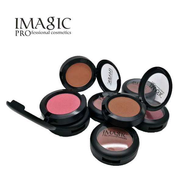 Wholesale 12PCS/SET Natural Face Pressed Blush Baked Makeup High Pigment Color, Ultra Hydrating Pressed Mineral Blush Makeup