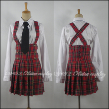 Venta caliente aph hetalia cosplay costume dress w academia mujeres chica uniforme escolar desgaste del partido cotton dress
