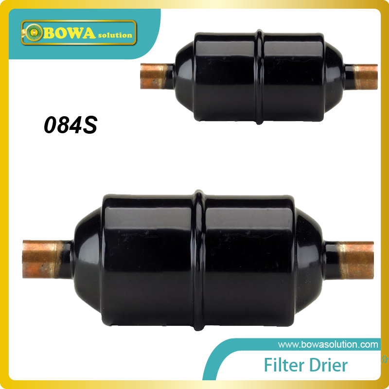 EM-084S 1/2  solder filter drier for   water chiller replace  Castel filter drier em 307s 7 8 filter drier providing filtration in refrigeration system and hvac products