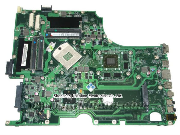 MBPUH06002 DA0ZYAMB8D0 Laptop Motherboard for acer aspire 8943 8943G Intel HM55 ATI graphics DDR3 work with i7 MB.PUH06.002