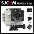 Original sjcam sj5000x elite wifi esporte action camera 4 k 24fps 2 k 30fps gyro + extra 1 pcs bateria + carregador de bateria + 32 gb cartão de memória
