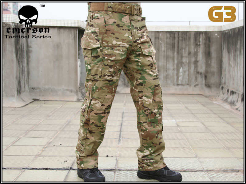 Emerson G3 Pants Multicam Trousers with Knee Pads Military Army Airsoft Cosplay Uniform Combat Tactical Hunting Pants EM8527 military uniform multicam army combat shirt uniform tactical pants with knee pads camouflage suit hunting clothes