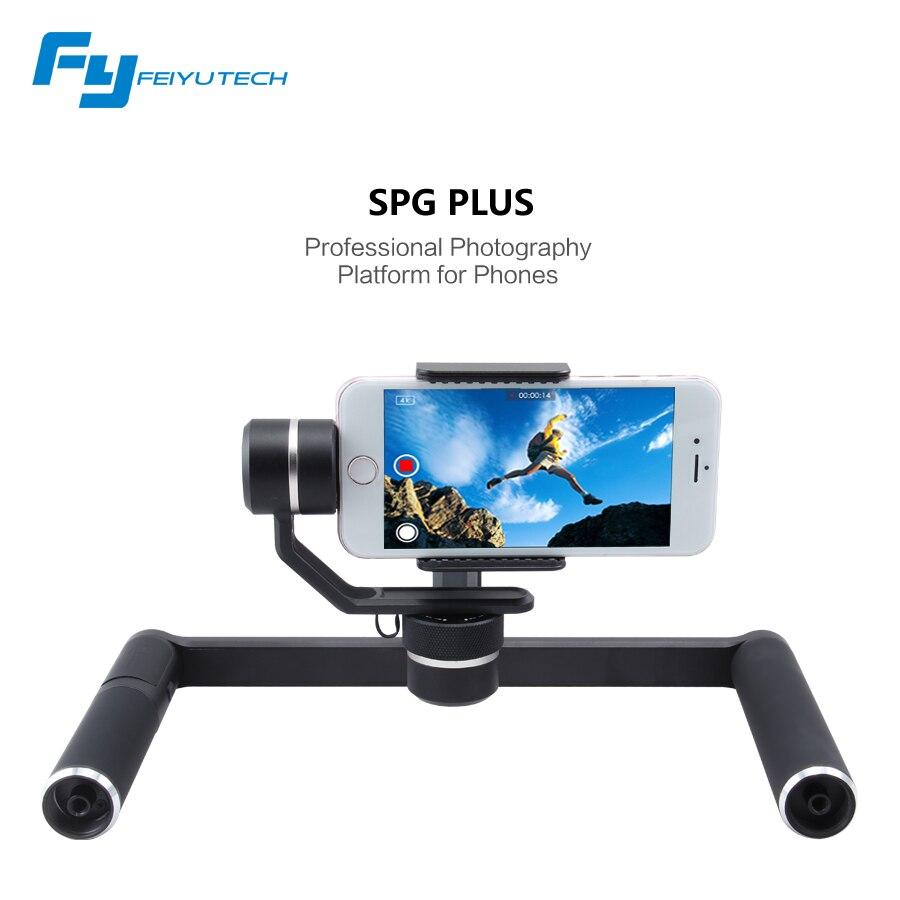 Feiyu Tech SPG PLUS 3 axis handheld font b smartphone b font action camera gimbal professional