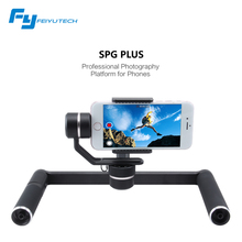 Feiyu Tech SPG PLUS 3 axis handheld smartphone action camera gimbal professional photography platform for phones gopro 5