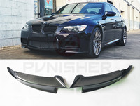 Carbon Fiber Front Splitters for BMW E92 M3 Front Air Ducts Bumper lips