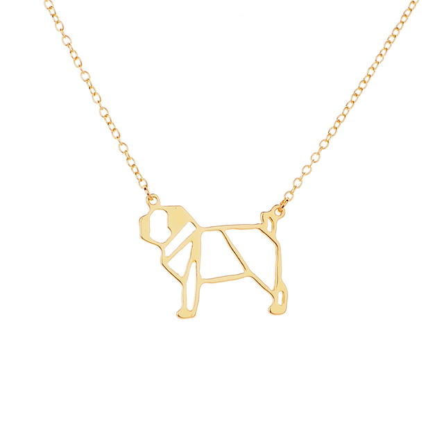 Fashion Hollow-Out Dog Pendant