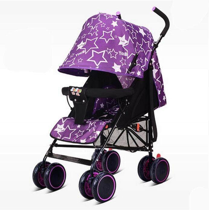 2017 Fashion Super Light Weight Baby Stroller Colorful Folding Easy Baby Car Shockproof Portable Trolley Prams for Newborns выключатель 1 клавишный marin v01 43 z11 s