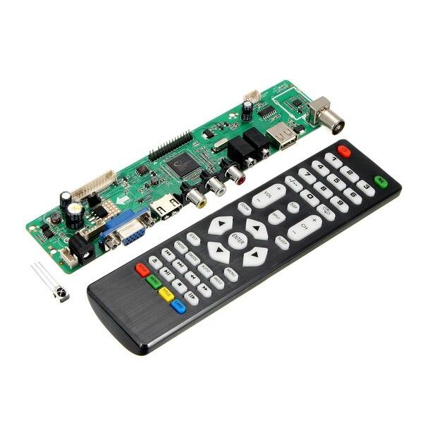 New Arrival V59 Universal LCD TV Controller Driver Board PC/VGA/HDMI/USB Interface Module Board high quality v56 upgrade v59 universal lcd tv controller driver board pc vga hdmi usb interface