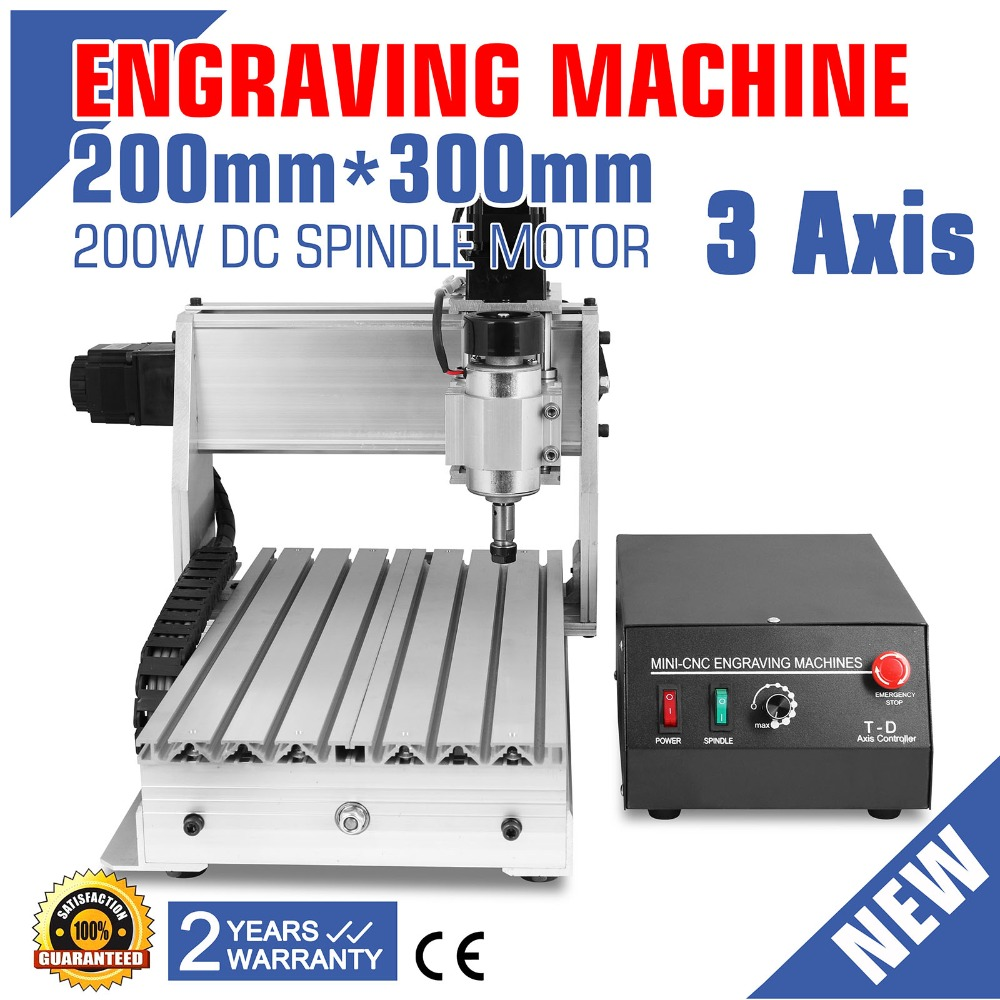 Updated New CNC 3020T Router Engraver/Engraving Drilling And Milling Machine