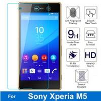 2PCS Explosion proof Tempered Glass For Sony Xperia M5 E5606 Lte E5643 E5633 E5603 E5653 Dual Screen Protector Protective Film