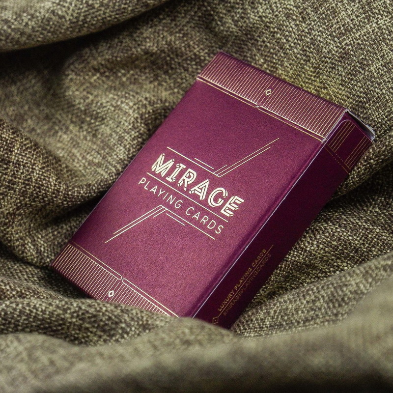 1 Deck Mirage V2 By Patrick Kun Cardistry Fans Favourite Deck Cards Magic Trick tally ho playing cards magic deck magic tricks cardistry deck
