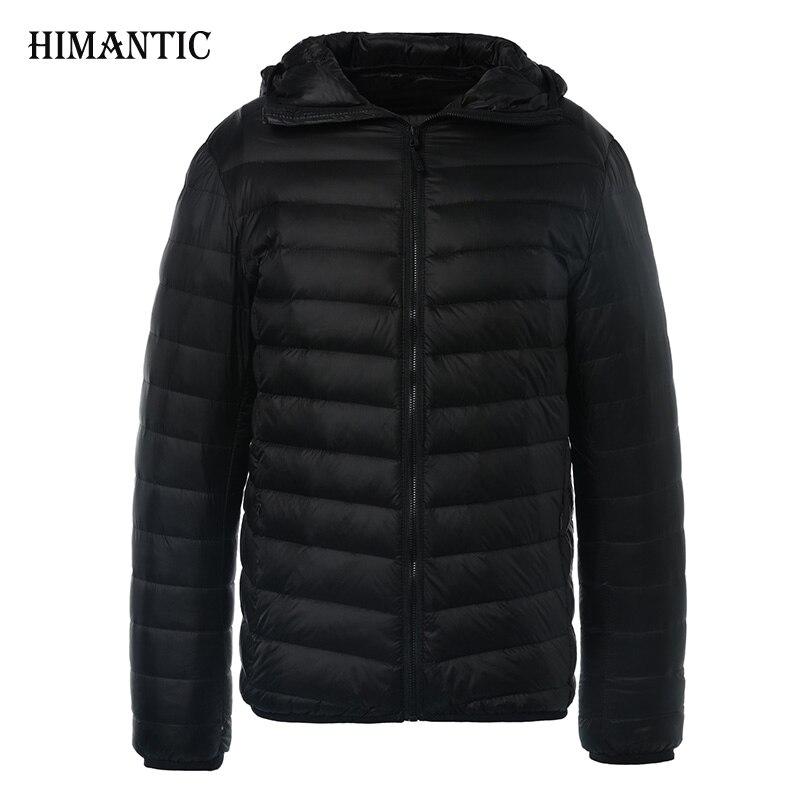 Winter Jacket Men Solid Breathable Duck Down Jacket Mens Coats Parka hombre Plus Size 3XL Fashion Design Brand Clothing