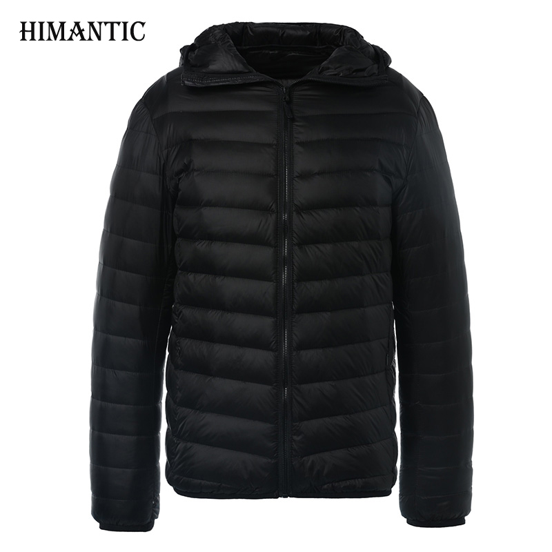 Winter <font><b>Jacket</b></font> Men Solid Breathable Duck Down <font><b>Jacket</b></font> Mens Coats Parka hombre Plus Size 3XL Fashion Design Brand Clothing