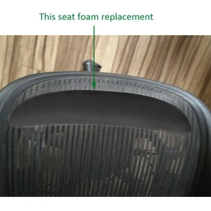 Image 5 - 2 adet bellek köpük koltuk pedleri değiştirme ofis bilgisayar Gamepad sandalye Silla Oficina ergonomik sandalyeler şezlong parçaları Pad