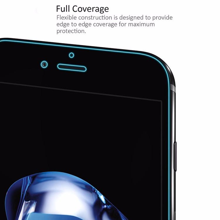 shuohu 2 шт./лот формате HD ясно экран протектор для iPhone 7 на 8 плюс спереди + крышка тпу защитный экран плёнки для iphone8 плюс