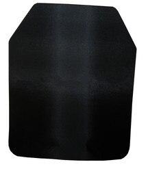 NIJ IIIA Stahl Legierung Streik Gesicht Shooter Cut Anti-trauma Ballistische Platte Für Platte Träger