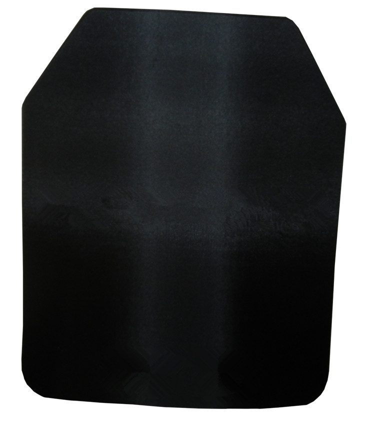NIJ IIIA Steel Alloy Strike Face Shooter Cut Anti-trauma Ballistic Plate For Plate Carrier