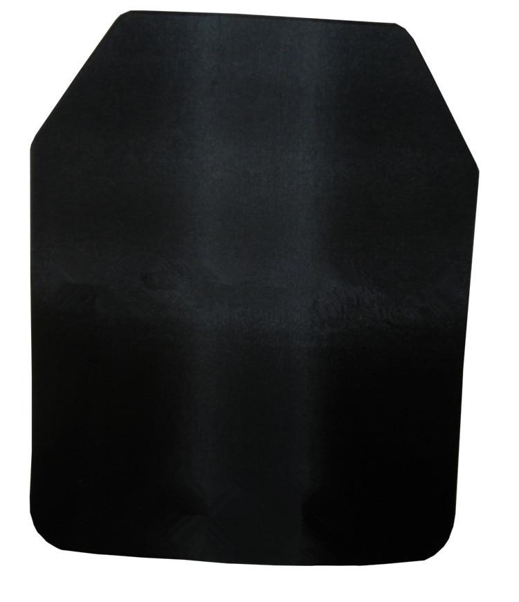 NIJ IIIA Steel Alloy Strike Face Shooter Cut Anti-trauma Ballistic Plate For Plate Carrier