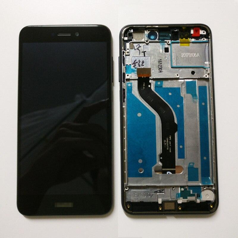 imágenes para Para Huawei P8 lite 2017 PRA-LA1 PRA-LX1 PRA-LX3/honor 8 lite PRA-LX2 Pantalla LCD de Pantalla Táctil Digitalizador con marco asamblea