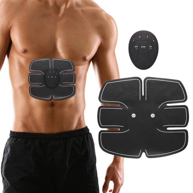 Us 7 4 34 Off New Muscle Smart Stimulator Training Fitness Gear Fitness Abdominal Trainer Weight Loss Stickers Slimming Exerciser Toning Belt In
