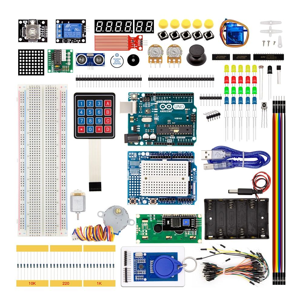 Arduino ultimate starter kit including ultrasonic sensor