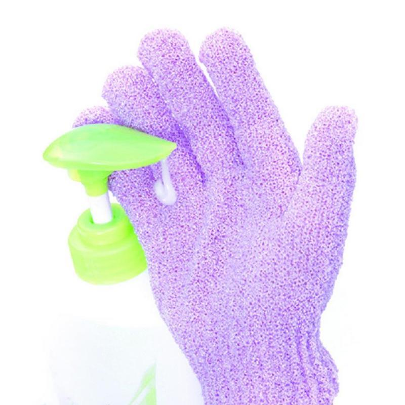 1 Pc Shower Bath Gloves Exfoliating Wash Skin Spa Bath