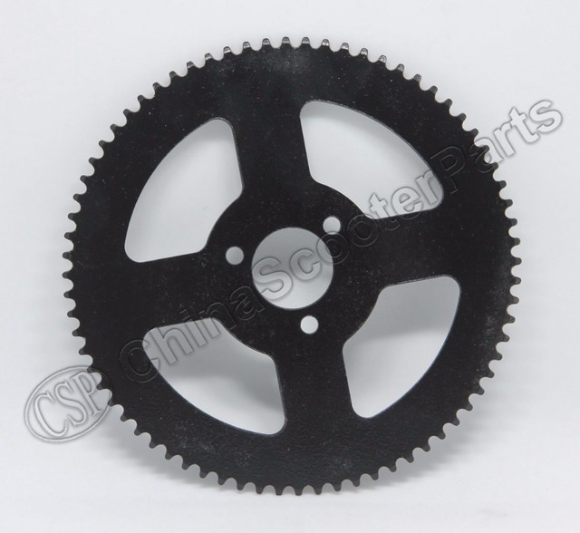 72 72T Tooth 25H 26MM Rear Sprocket Mini Moto ATV Quad Dirt Pit Pocket Bike Chopper 47CC 49CC