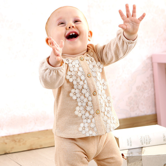 0-24 M Newborn baby girl boy ropa Abrigos Chaquetas Ropa de Bebé ropa de Abrigo Abrigos Chaquetas Abrigos de algodón de color Natural jas