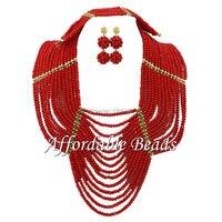 Lovely Dubai Gold Jewelry Set Latest Bridal Jewelry Sets ABW031