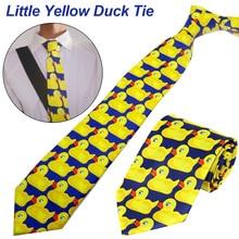 лучшая цена Ducky New Hot Fashion Brand Tie How I Met Your Mother Ducky Tie Yellow Rubber Duck Necktie Ties