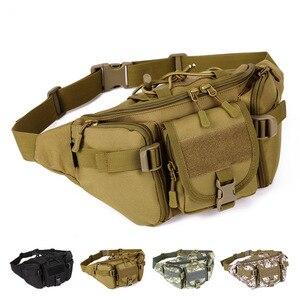 Image 2 - חדש גברים ירך חבילות חיצוני עמיד למים תיק זכר טקטי מותן תיק Molle מערכת פאוץ חגורה Bagpack ספורט שקיות צבאי