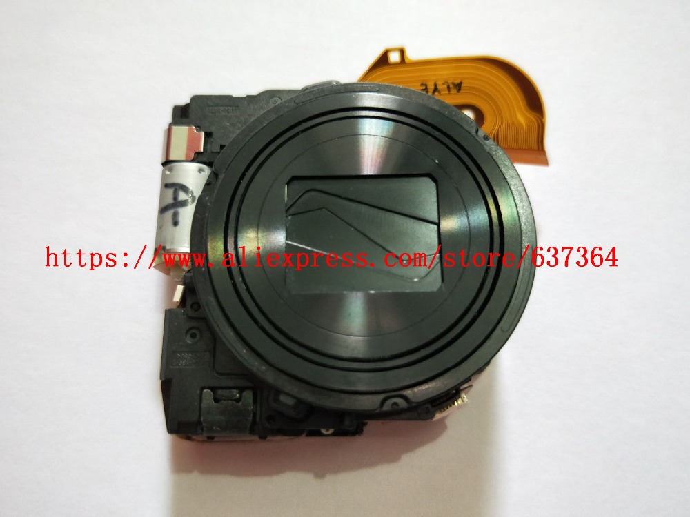 NEW <font><b>Lens</b></font> Zoom For <font><b>Sony</b></font> Cyber-shot DSC-WX300 WX300 DSC-<font><b>WX350</b></font> <font><b>WX350</b></font> Digital Camera Repair Part Black Silver image