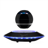 Wireless Levitating Bluetooth 4 0 Speaker Intelligent 3D Subwoofer Suspending Sound Built In Microphone Magnetic Suspension