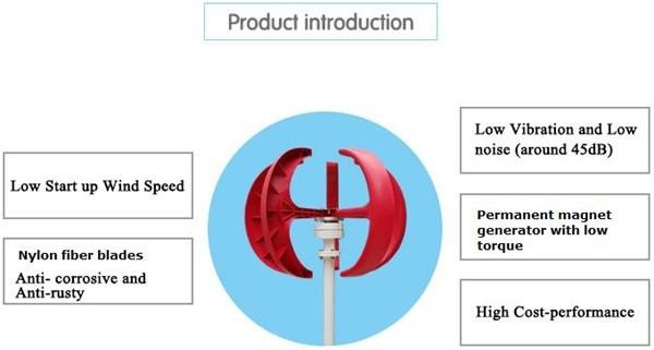micro vertical wind generator