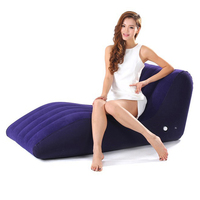 2019 New S shaped inflatable sex sofa chair adult game sexy furniture love chairs sexual intercourse sofas bed for couples