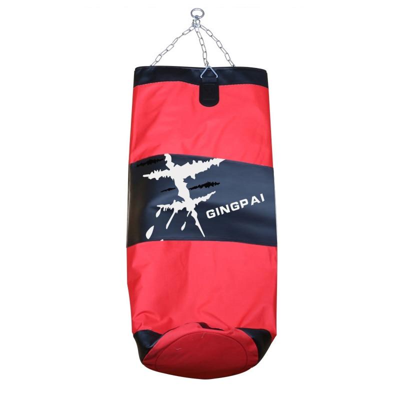 120cm PU Leather Canvas Kick Boxing Punching Bag Sandbag Adult MMA Muay Thai Taekwondo Sport Fitness Training Exercise Equipment in Punching Bag Sand Bag from Sports Entertainment