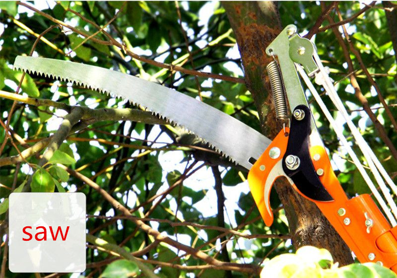 Garden Tools Pruning Shears Pruning high saws telescopic tree saws