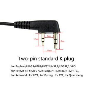 Image 5 - Гарнитура с горловиной и микрофоном для приемопередатчика, 2 шт., для Kenwood TYT Baofeng UV 5R UV 82 Retevis H777 RT 5R RT22 RT3 RT81