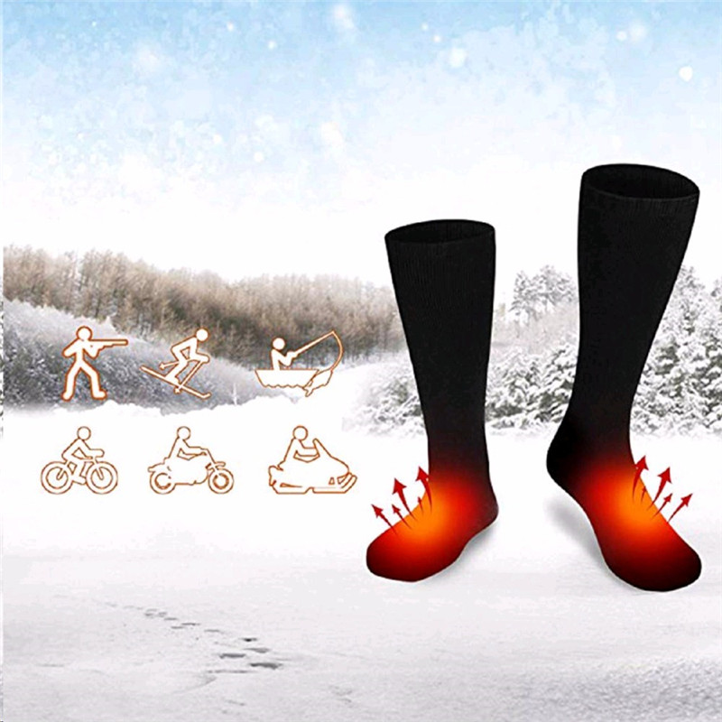 c4993207c9e Detail Feedback Questions about Winter 100% Cotton Outdoor Feet Warm Paste  Pads Heated Socks Warm Foot Warmers Electric Warming for Hunting Ice  Fishing ...