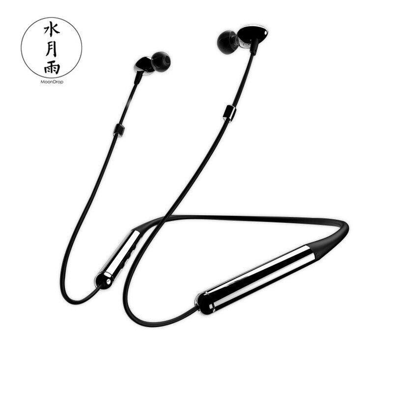 Casque Bluetooth Moondrop Mirai monté sur le cou avec micro écouteurs sans fil dans l'oreille