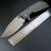 Eafengrow Siwang folding knife D2 pocket knife TC4 titanium alloy handle tactical camping knive EDC tool
