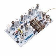 Audiophiler צינור ואקום FM רדיו בציר HiFi אודיו סטריאו מקלט ערכת DIY