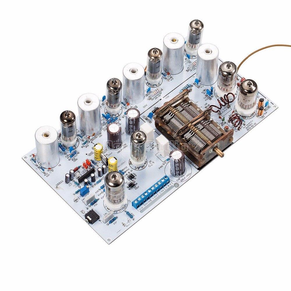 Audiophiler Vacuum Tube FM Radio Vintage HiFi Audio Stereo Receiver DIY Kit